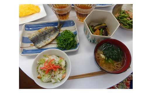 独身者の為の料理教室